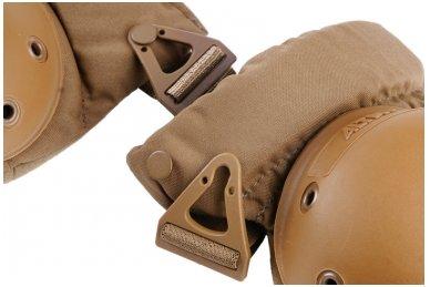 Taktinės kelių apsaugos - UltraFlex Coyote Brown 2