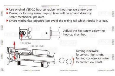 HopUp kamera skirta VSR-10 tipo ginklams 2