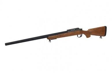 Airsoft snaiperinis šautuvas MB03 (Wood) 4