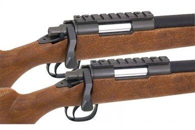 Airsoft snaiperinis šautuvas MB03 (Wood) 6