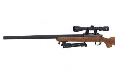 Airsoft snaiperinis šautuvas MB03 (Wood) 8