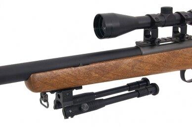 Airsoft snaiperinis šautuvas MB03 (Wood) 9