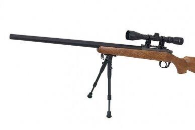 Airsoft snaiperinis šautuvas MB03 (Wood) 10