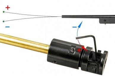 Airsoft snaiperinis šautuvas CM.700 - Olive Drab 11