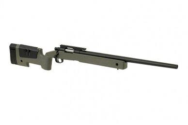 Airsoft snaiperinis šautuvas CM.700 - Olive Drab 4