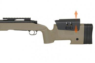 Airsoft snaiperinis šautuvas CM.700 - Olive Drab 6