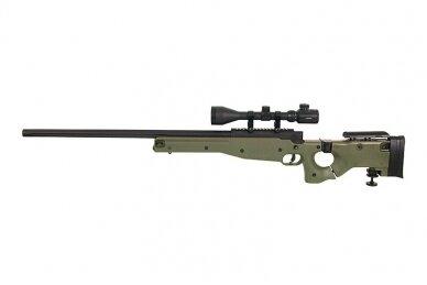 Airsoft snaiperinis šautuvas MB-08 - Olive 11
