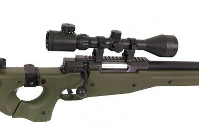 Airsoft snaiperinis šautuvas MB-08 - Olive 14
