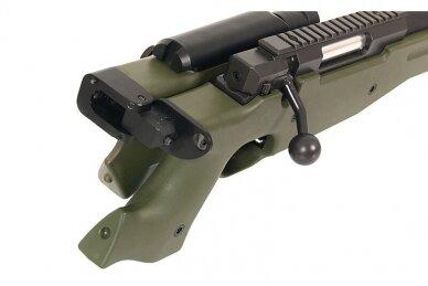 Airsoft snaiperinis šautuvas MB-08 - Olive 5