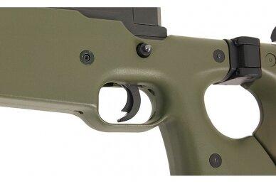 Airsoft snaiperinis šautuvas MB-08 - Olive 7