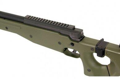 Airsoft snaiperinis šautuvas MB-08 - Olive 9