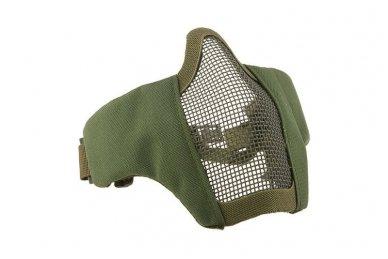 """Apsauginė veido kaukė """"Stalker Evo Mask"""" su tvirtinimu prie FAST šalmo Olive 3"""