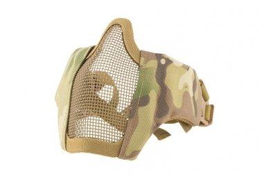 """Apsauginė veido kaukė """"Stalker Evo Mask"""" su tvirtinimu prie FAST šalmo Multicamo"""
