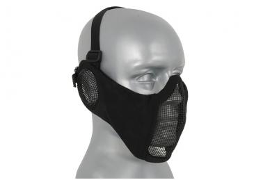 """Apsauginė veido kaukė su ausų apsauga """"Stalker Evo Mask"""" Black 2"""