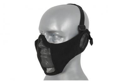 """Apsauginė veido kaukė su ausų apsauga """"Stalker Evo Mask"""" Black 3"""