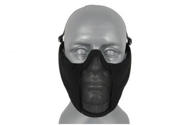"""Apsauginė veido kaukė su ausų apsauga """"Stalker Evo Mask"""" Black"""