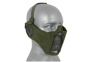 """Apsauginė veido kaukė su ausų apsauga """"Stalker Evo Mask"""" Olive 3"""