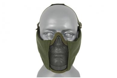 """Apsauginė veido kaukė su ausų apsauga """"Stalker Evo Mask"""" Olive"""