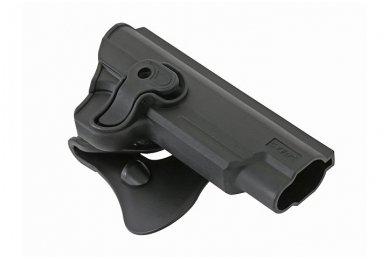 Aukštos kokybės polimero dėklas 1911 pistoletui 4