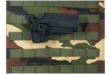 Aukštos kokybės polimero dėklas Beretta92/92F pistoletui 13