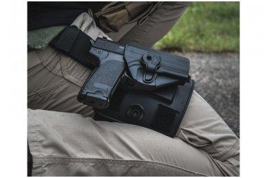 Aukštos kokybės polimero dėklas Beretta92/92F pistoletui 14