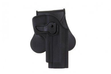 Aukštos kokybės polimero dėklas Beretta92/92F pistoletui 2