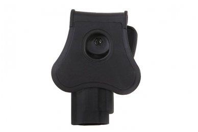 Aukštos kokybės polimero dėklas Beretta92/92F pistoletui 3