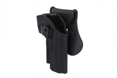 Aukštos kokybės polimero dėklas Beretta92/92F pistoletui 5