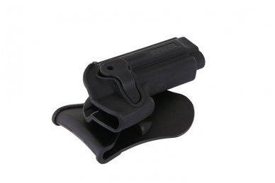 Aukštos kokybės polimero dėklas Beretta92/92F pistoletui 6