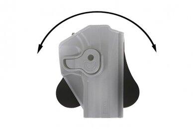 Aukštos kokybės polimero dėklas CZ75 SP-01 pistoletams 9