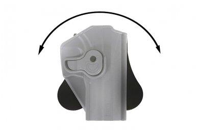 Aukštos kokybės polimero dėklas G.17/22/31/34/35  pistoletams 9