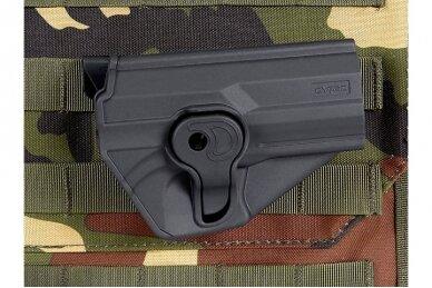 Aukštos kokybės polimero dėklas CZ75 SP-01 pistoletams 12