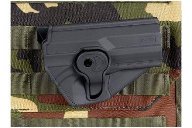 Aukštos kokybės polimero dėklas G.17/22/31/34/35  pistoletams 12