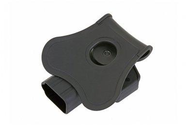 Aukštos kokybės polimero dėklas G.19/23/32 pistoletui 9