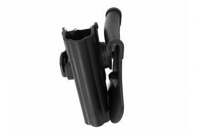 Aukštos kokybės polimero dėklas G.19/23/32 pistoletui 4