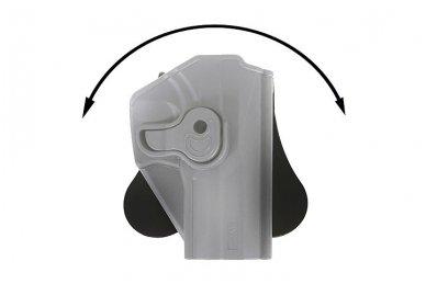 Aukštos kokybės polimero dėklas G.19/23/32 pistoletui 7