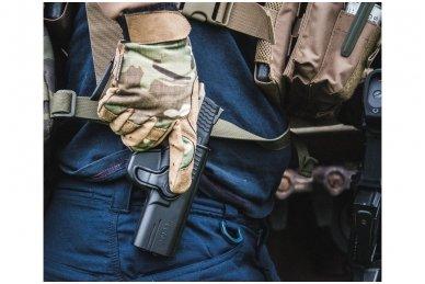 Aukštos kokybės polimero dėklas S&W M&P 9 pistoletui 14