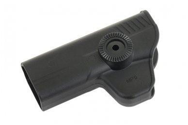 Aukštos kokybės polimero dėklas S&W M&P 9 pistoletui 10