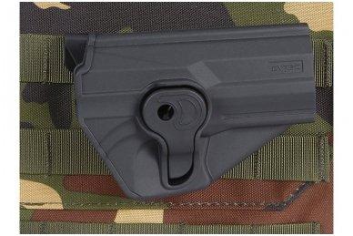 Aukštos kokybės polimero dėklas S&W M&P 9 pistoletui 16