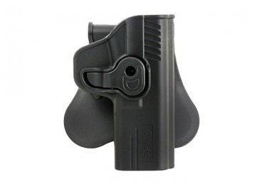Aukštos kokybės polimero dėklas S&W M&P 9 pistoletui 2