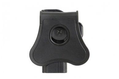 Aukštos kokybės polimero dėklas S&W M&P 9 pistoletui 3