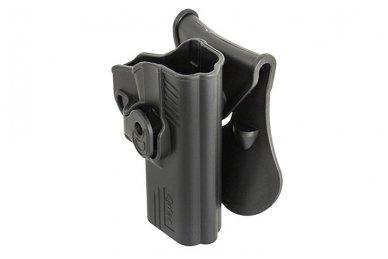 Aukštos kokybės polimero dėklas S&W M&P 9 pistoletui 4