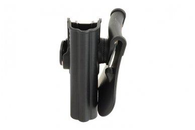 Aukštos kokybės polimero dėklas S&W M&P 9 pistoletui 5
