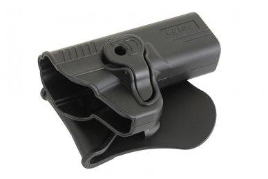 Aukštos kokybės polimero dėklas S&W M&P 9 pistoletui 6