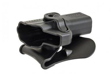 Aukštos kokybės polimero dėklas S&W M&P 9 pistoletui 7