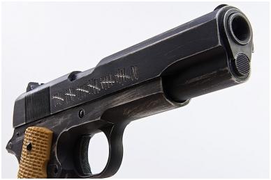 Šratasvydžio pistoletas AW Custom 'Molon Labe' 1911A1 (Smėlio spalvos rankena) 2