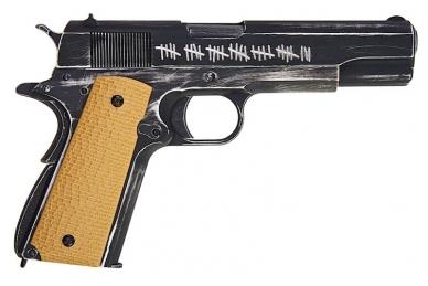 Šratasvydžio pistoletas AW Custom 'Molon Labe' 1911A1 (Smėlio spalvos rankena) 6