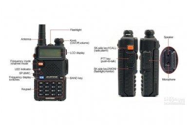 Baofeng UV-5R radijo stotelė 4