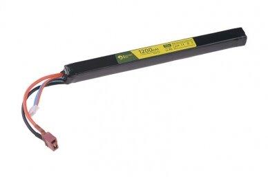 Baterija Li-Po 11.1v 1200mAh 20/40C skirta AK serijos ginklams
