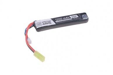Baterija LI-PO 1200MAH 7,4V 15/30C